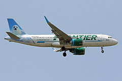 A320.N338FR (Airliners) Tags: frontier frontierairlines 320 a320 a320251 a320neo airbus airbus320 airbusa320 airbusa320251n airbusa320neo seal norththeseal iad n338fr 6119