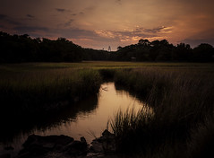 Shem Creek Sunset (Nick Burwell) Tags: sunset landscape sony bealpha a7rii southcarolina charleston photography vacation loxia