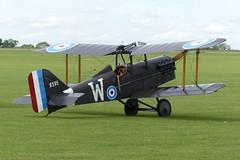 "SE.5a replica B595 ""W"" (G-BUOD) (Gavin Livsey) Tags: gbuod b595 se5a sywell"