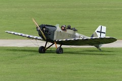 """Bowers Fly Baby (G-BNPV) as """"C.L.1.1801/18"""" German AAS. (Gavin Livsey) Tags: flybaby sywell gbnpv"""