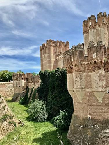Foso del Castillo de Coca.