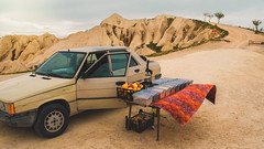 Juice Bar in Goreme (mcgaheyk19) Tags: cappadocia desert dessert turkey mad max madmax car juice