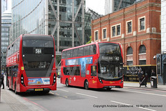 IMG_1389-200519 (andrewcolebourne) Tags: london londonbus transportforlondon nortonfolgate abelliolondon 2535 yy16ykb route344 goahead londoncentral eh122 sn66wor q route42 alexander dennis enviro400 mmc hybrid
