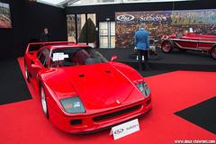 RM Sotheby's Paris 2017 - Ferrari F40 - 1989 (Deux-Chevrons.com) Tags: ferrarif40 ferrari f40 rmauctions rmsothebys paris france car coche voiture auto automobile automotive supercar sportcar gt exotic exotics