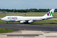 EC-MRM | Boeing 747-4H6 | Wamos Air (JRC | Aviation Photography) Tags: ecmrm boeing7474h6 wamosair boeing747 boeing 747 747400 dus eddl