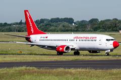 ZA-ALB | Boeing 737-46J  | Albawings (JRC | Aviation Photography) Tags: zaalb albawings dus eddl boeing737400 boeing737 boeing