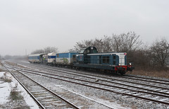 L'infra en déplacement (videostrains) Tags: bb66000 bb66640 train sncf infra neige rhone alpes loire railway bahn voie ferrée