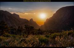 Golden hour at Chisos Mountains, Big Bend National Park (episa) Tags: may2019 chisosmountain bigbendnationalpark fujifilmgfx50r sunset thewindowview fujifilmgf45mmf28rwr