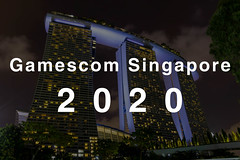 Gamescom asia in in Singapur (Singapore) Long Exposure: Marina Sands Bay Hotel