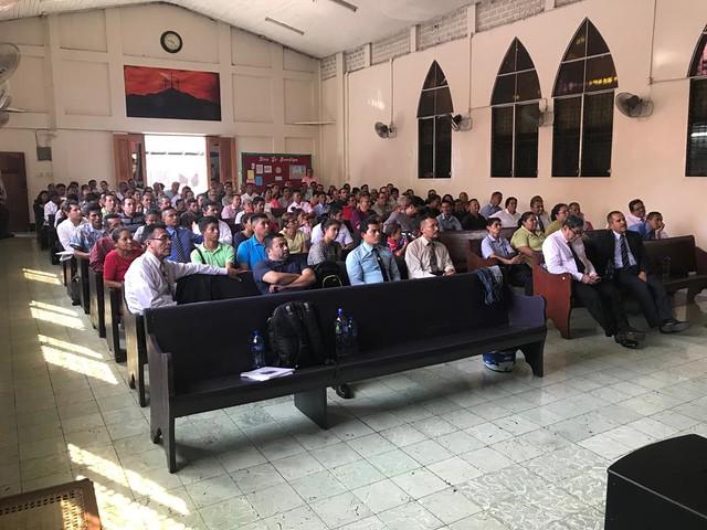 REUNIÓN EN MISIÓN CENTRAL NICARAGUA