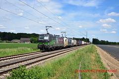 "ELL 193 284 ""B&S Logsitik"" + WLC 1216 950 (Phil.Kn.) Tags: siemens vectron 193 ell wlc 1216 containerzug eisenbahn"