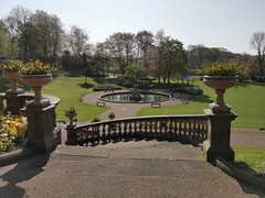 Spring's morning in Avenham and Miller Park, Preston (janettehall86) Tags: avenhampark millerpark park prestonlancashire preston lancashire photosofpreston photo flowerbed waterfountain naturephotography nature beautiful spring bridge outdoors outdoorphotography photography photographylovers morning day light landscape landscapephotography huaweip30pro huawei awesome pretty beautifulnature beautyinnature ilovenature trees view views