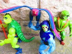 Masters of the Universe (the_gonz) Tags: mastersoftheuniverse heman vintage 80s actionfigure toy mattel skeletor screech screeech kobrakhan whiplash toys 80sactionfigure