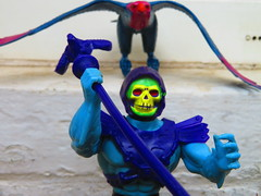 Masters of the Universe (the_gonz) Tags: mastersoftheuniverse heman vintage 80s actionfigure toy mattel screech screeech skeletor toys 80sactionfigure