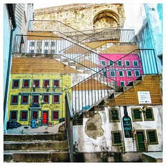 "Hidden Porto (gasheadali) Tags: urban ""streetart"" mural steps muralism ""vilanovadegaia"" portugal porto"