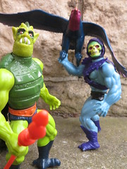 Masters of the Universe (the_gonz) Tags: mastersoftheuniverse heman vintage 80s actionfigure toy mattel skeletor screech screeech whiplash toys 80sactionfigure