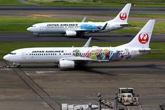 Japan Airlines | Boeing 737-800 | JA330J | Shimajiro Jet livery | Tokyo Haneda (Dennis HKG) Tags: aircraft airplane airport plane planespotting oneworld canon 7d 100400 tokyo haneda rjtt hnd japanairlines jal jl japan boeing 737 737800 boeing737 boeing737800 ja330j shimajirojet shimajiro