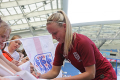 England Women 0 New Zealand Women 1 01 06 2019-1384.jpg (jamesboyes) Tags: england lionesses fa football soccer fifa fifawwc newzealand kiwis worldcup womensworldcup france2019 thisgirlcan whatif women sport ladies womeninsport equality brighton amex americanexpress tackle kick boot challenge score goal ball fans celebration selfie autograph smile support supporters teamengland