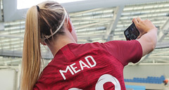 England Women 0 New Zealand Women 1 01 06 2019-1388.jpg (jamesboyes) Tags: england lionesses fa football soccer fifa fifawwc newzealand kiwis worldcup womensworldcup france2019 thisgirlcan whatif women sport ladies womeninsport equality brighton amex americanexpress tackle kick boot challenge score goal ball fans celebration selfie autograph smile support supporters teamengland