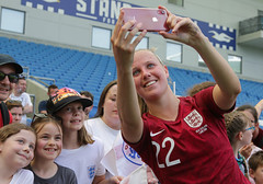 England Women 0 New Zealand Women 1 01 06 2019-1415.jpg (jamesboyes) Tags: england lionesses fa football soccer fifa fifawwc newzealand kiwis worldcup womensworldcup france2019 thisgirlcan whatif women sport ladies womeninsport equality brighton amex americanexpress tackle kick boot challenge score goal ball fans celebration selfie autograph smile support supporters teamengland