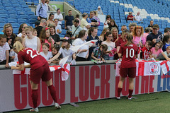 England Women 0 New Zealand Women 1 01 06 2019-1417.jpg (jamesboyes) Tags: england lionesses fa football soccer fifa fifawwc newzealand kiwis worldcup womensworldcup france2019 thisgirlcan whatif women sport ladies womeninsport equality brighton amex americanexpress tackle kick boot challenge score goal ball fans celebration selfie autograph smile support supporters teamengland