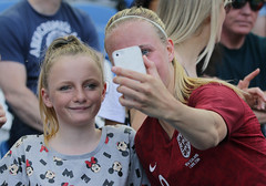 England Women 0 New Zealand Women 1 01 06 2019-1434.jpg (jamesboyes) Tags: england lionesses fa football soccer fifa fifawwc newzealand kiwis worldcup womensworldcup france2019 thisgirlcan whatif women sport ladies womeninsport equality brighton amex americanexpress tackle kick boot challenge score goal ball fans celebration selfie autograph smile support supporters teamengland