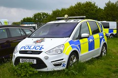 OU12 EUT (S11 AUN) Tags: civil nuclear constabulary cnc police ford smax mpv area patrol armed response vehicle arv firearms support unit fsu 999 emergency ou12eut