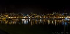 San Remo, Itália (kike.matas) Tags: canon canoneos6d canonef1635f28liiusm kikematas sanremo italia puerto ciudad reflejos casas luces agua mediterraneo barcos nocturna noche lightroom6