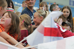 England Women 0 New Zealand Women 1 01 06 2019-1379.jpg (jamesboyes) Tags: england lionesses fa football soccer fifa fifawwc newzealand kiwis worldcup womensworldcup france2019 thisgirlcan whatif women sport ladies womeninsport equality brighton amex americanexpress tackle kick boot challenge score goal ball fans celebration selfie autograph smile support supporters teamengland