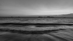 Tide (Alexander K L Chan) Tags: blackandwhite bnw bw water sea sky outdoor hongkong hk sony a99