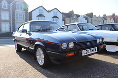 Ford Capri 2.8 Injection Special C207HVW (Andrew 2.8i) Tags: classics meet show cars car classic weston westonsupermare capri ford coupe europe euro european v6 28 hatch liftback hatchback mark 3 mk mk3 iii injection 2800 cologne special