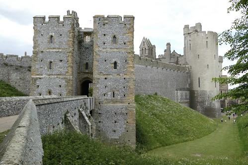 Arundel Castle - the Norman gatehouse