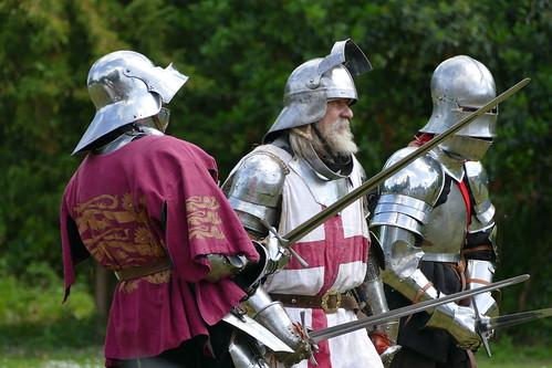 historical re-enactment at Arundel Castle