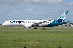 C-GURP Boeing 787-9 (Irish251) Tags: westjet b789 boeing 787 dreamliner dub eidw dublin airport ireland wja5 first inaugural flight service yyc