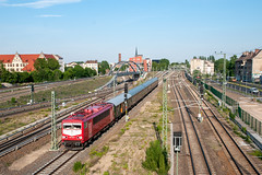 2-6-2019 - Berlin Ostkreuz (berlinger) Tags: berlinfriedrichshain berlin deutschland wfl br155 155159 snalltaget berlinnightexpress eisenbahn railways railroad silberlinge