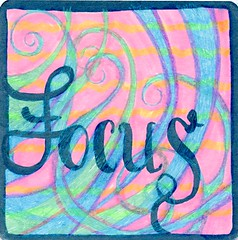 Focus (Life Imitates Doodles) Tags: youtangle lifeimitatesdoodles mixedmedia