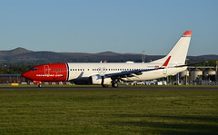 Norwegian Boeing 737-800 LN-DYD (andyflyer) Tags: edinburghairport egph aircraft flying aviation aeroplane edi