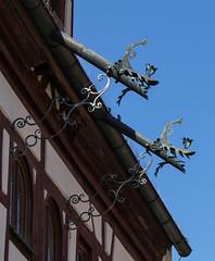 Frankenland - Herzogenaurach (Helmut44) Tags: deutschland germany bayern franken mittelfranken altstadt dach dachrinne