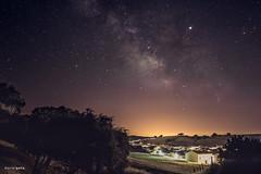 Centro galáctico vía láctea, Júpiter y estrella fugaz en El Real de la Jara (Justicia Poética) Tags: víaláctea astrophotography astrofotografía centrogaláctico panorámica milkyway