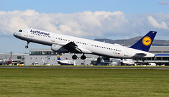 Lufthansa Airbus A321 D-AIRT (andyflyer) Tags: edinburghairport egph aircraft flying aviation aeroplane edi