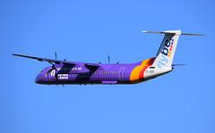 flybe Bombardier Dash 8 Q400 G-JEDV (andyflyer) Tags: edinburghairport egph aircraft flying aviation aeroplane edi flybe bombarider dash8 dash8400 dash8q400 dhc dehavillandcanada
