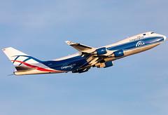 G-CLBA Cargo Logic Air B744F (twomphotos) Tags: plane spotting fra2 eddf departure rwy25c evening low sunlight climbing out cargo logic air boeing b744f b744