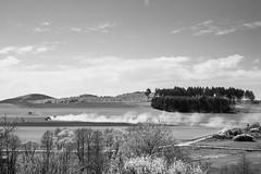 Medebach (Sabine Kierstead) Tags: medebach schwarz schwarzweis sw weis white wolken blackandwhite black bw landschaft landscape clouds