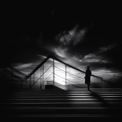 ...leavingthenight... (*ines_maria) Tags: night light street clouds woman people architecture white travel urba life urbanexploration streetphotography blackwhite blanconegro black bnw bn bnwphotography bnwphoto shadow panasonic panasonicdcgh5 monochrome