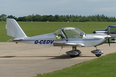 EV-97 Eurostar G-CEDV (Gavin Livsey) Tags: sywell gcedv eurostar ev97