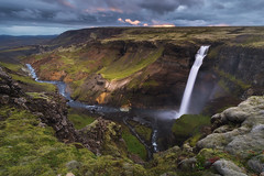 Waterfall in the Icelandic Highlands (Iurie Belegurschi www.iceland-photo-tours.com) Tags: haifoss waterfall icelandic adventure arctic beautiful cloudy clouds cliff canyon daytours earth enchanting extreme extremeterrain fineartlandscape fineart fineartphotography fineartphotos finearticeland guidedphotographyworkshops guidedphotographytour guidedtoursiceland guidedtoursiniceland highlands icelandphototours iuriebelegurschi iceland icelanders icelandphotographyworkshops icelandphotoworkshops icelandphotographytrip landscape landscapephotography landscapes landscapephoto landscapephotos landofthemidnightsun longexposure midnightsun mountain mountains mountainrange nature outdoor outdoors overcast phototours phototour photographyiniceland photographyworkshopsiniceland rocky summer sunset tours travelphotography travel tripsiceland view valley workshop workshops waterfalls