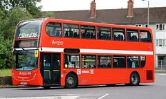 Arriva Merseyside 4411 CX58FZZ working on the 52's today at St. Oswalds Lane, Netherton, Bootle, (Gobbiner) Tags: arrivamerseyside cx58fzz ribble100yrs bootle 4411 adl netherton e400 enviro arrivabuscouk ribblemotorservices