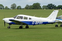 Piper PA-28-161 Warrior II G-BPRY (Gavin Livsey) Tags: sywell pa28 warrior gbpry