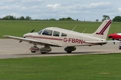 Piper PA-28-181 Archer II G-FBRN (Gavin Livsey) Tags: sywell archer cherokee pa28 gfbrn