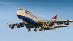 BRITISH AIRWAYS B747-436 (lavierphilippephotographie) Tags: britishairways b747436 boeing b747 lhr london heathrow plane airplane aircraft airline airliner longhaul longcourrier spotter planespotter spotting planespotting